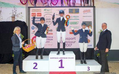 Geslaagde 1e dag Topsport Dressuur Exloo!