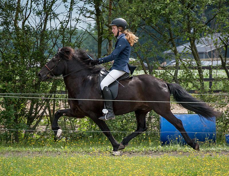 Goud voor de 16-jarige Imre Otter uit Beetsterzwaag en voor de 31 jarige Duitse Anne Lene Holm uit Bad Bevensen tijdens de aftrap IJRN Internationaal in Exloo.