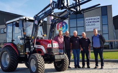 Woensdag is onze nieuwe KNEGT tractor aangekomen